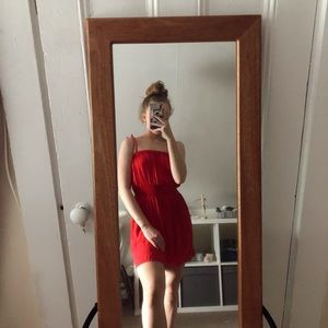 ★ PACSUN Red tie dress ★